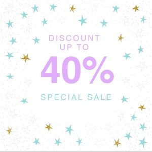 Entire Closet Sale Up To 40% Off EVERYTHING!